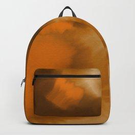 Pumpkin Watercolor Abstract Backpack