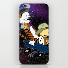 Doctor Calvin - TARDIWagon iPhone Skin