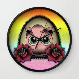 Jigglypuff Wall Clock