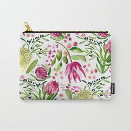 Protea Flower Bloom Carry-All Pouch