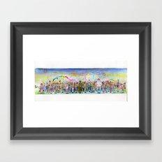 Slut Parade  Framed Art Print