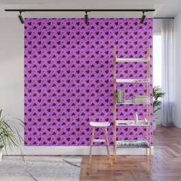 Pink Abstract pattern Wall Mural