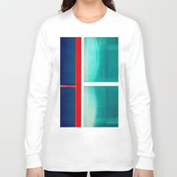 frames Long Sleeve T-shirts featuring FRAMES OF COLORS by Hidden Streets