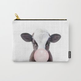 Bubble Gum Baby Cow Carry-All Pouch