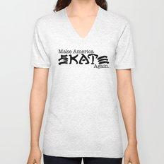 Skate Again Unisex V-Neck
