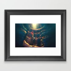 Someday Framed Art Print