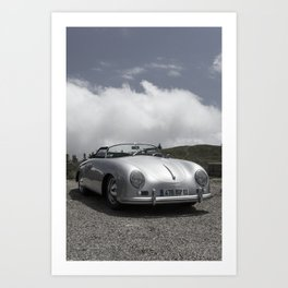 Porsche Speedster Art Print