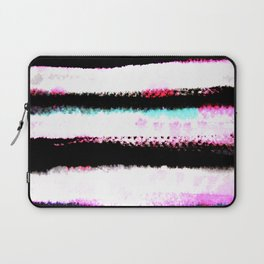 pink, green and black stripes Laptop Sleeve
