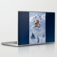 castle Laptop & iPad Skins featuring Sweet Castle by teddynash