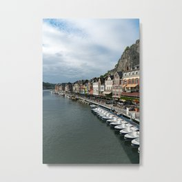 On the Meuse River Metal Print