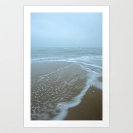 Shell and Ship, Raven Point, Wexford, Ireland Art Print