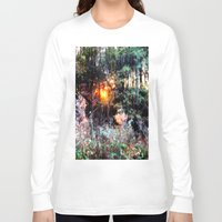 fairies Long Sleeve T-shirts featuring Where Fairies Live by 2sweet4words Designs