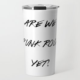 Punk Rock Travel Mug