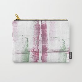 Red green abstract Carry-All Pouch