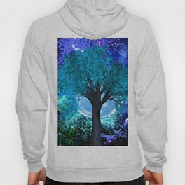 TREE MOON NEBULA DREAM Hoody