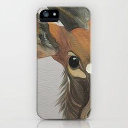 Lowland nyala iPhone Case