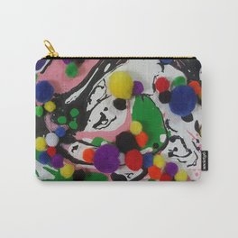 COLOURS ABSTRACT Carry-All Pouch