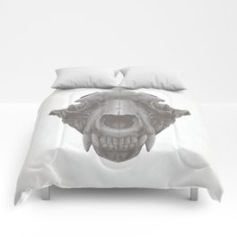 Grizzly Skull Comforters