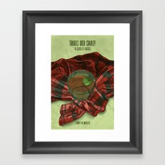 Travels with Charley Framed Art Print