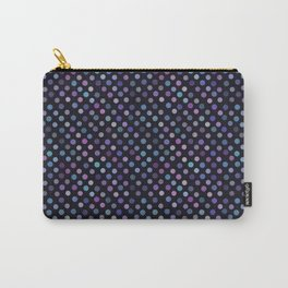 Retro Colored Dots Material Carry-All Pouch