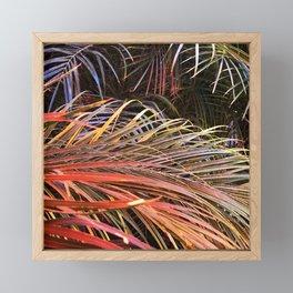 Firecracker Festival Of Fabulous Leaves Framed Mini Art Print