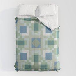 Gentle Shaded Plaid Comforters