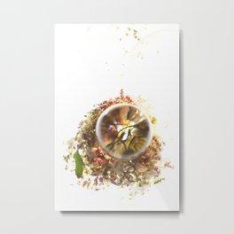 Botanical Blueprints Metal Print