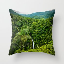 La Fortuna Throw Pillow