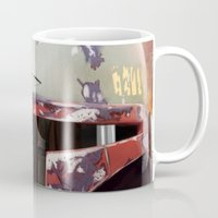 boba fett Mugs featuring Boba Fett by Mel Hampson