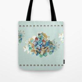 SEAFOAM Hortensia Tote Bag