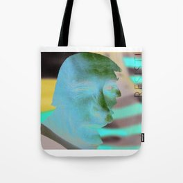 Facing Collusion Tote Bag