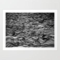 Where the Oceans End Art Print