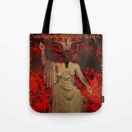 Baphomet Tarot Tote Bag