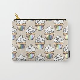 Cute Rainbow Muffin Carry-All Pouch