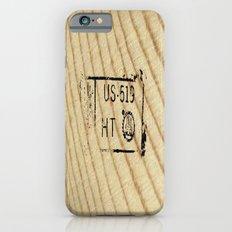 Lumber Stamp iPhone 6s Slim Case