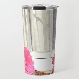 Tara's Rosey Window  Travel Mug