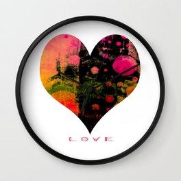 My Heart, My Love Wall Clock