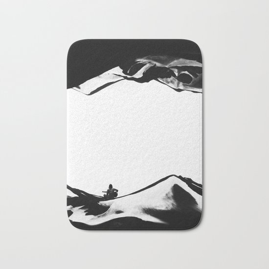 Song of isolation Bath Mat