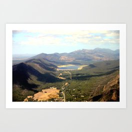 The Grampians National Park or (Gariwerd in Aboriginal) Art Print