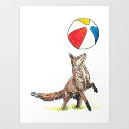 Beach Ball Art Print