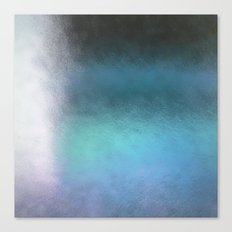 Abstract Square - blue Canvas Print