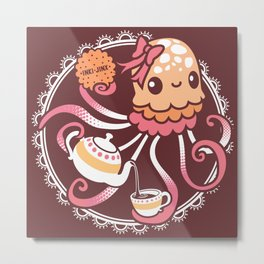 Sweet Jellyblub Tea  Metal Print