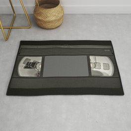 Retro 80's objects - Videotape Rug