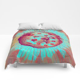 Frostbitten Sun Comforters