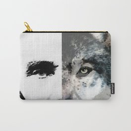 Political Debate - Abraham Lincoln Art by Sharon Cummings Carry-All Pouch