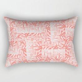 Midcentury Living Coral Rectangular Pillow