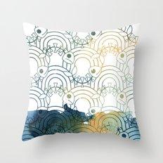 Haunted Stream Throw Pillow