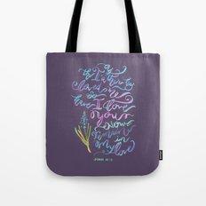 Remain in Love - John 15:9 Tote Bag