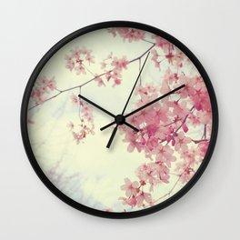 Dreams In Pink Wall Clock