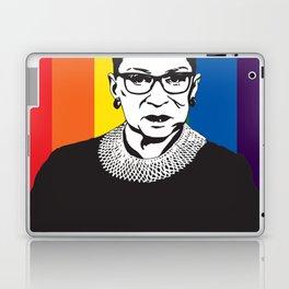 Ruth Bader Ginsburg Rainbow Laptop & iPad Skin